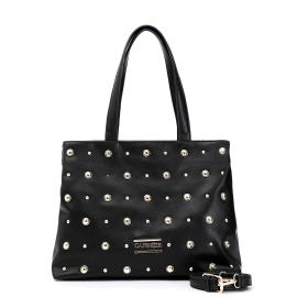 Multi-studded shopping bag