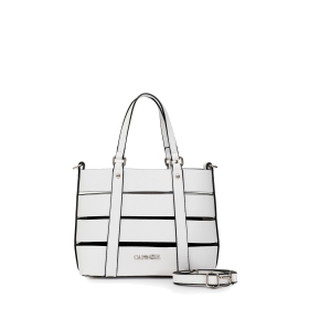 Shopping bag with multiple straps