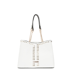 Bowling bag with mini studs