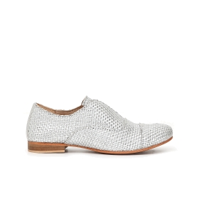Woven Oxford brogues