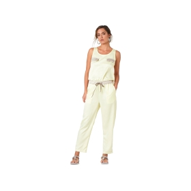 Jumpsuit with elasticated waist