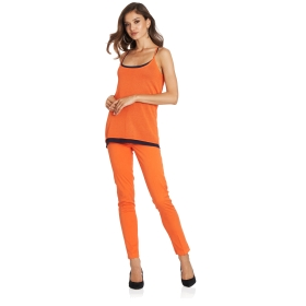 Skinny-fit five pocket trousers