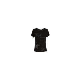 Star-embroidery t-shirt