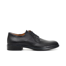Goatskin perforated brogues