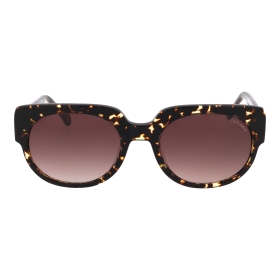 Sunglasses with animal print details