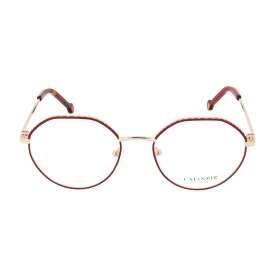 Metal eyeglasses, round shape