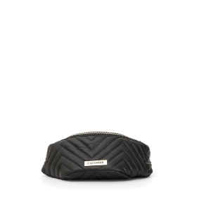Quilted waist pouch