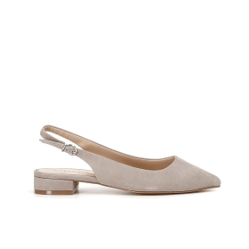 Special Price: Slingback suede ballet flats