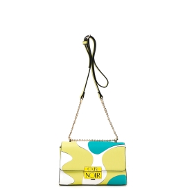 ABSTRACT PATCH MINI BAG