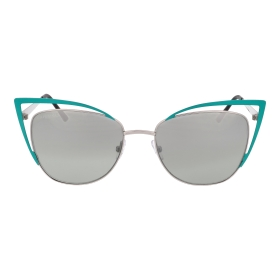 Tapered sunglasses with refined details