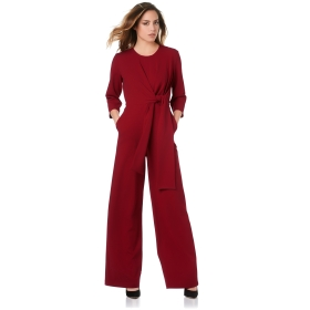 Jumpsuit with knot