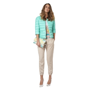 Soft trousers with pleats