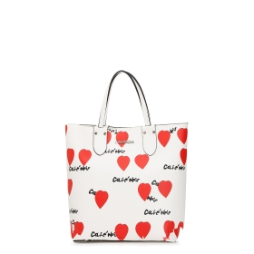 Shopper with hearts