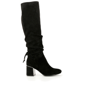 Boots with ankle lacing