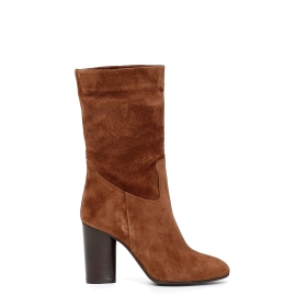 Exclusive: Suede ankle boots