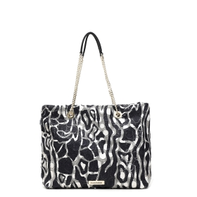 PRINTED SEQUINS SHOPPING BAG Multicolor TGU