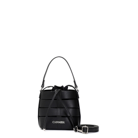 Bucket bag with multiple straps
