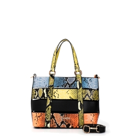 Shopping bag with multiple straps in python print