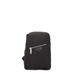 Masculine shoulder bag with Snap Hook