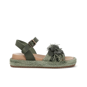 Gilda sandals with leather flower