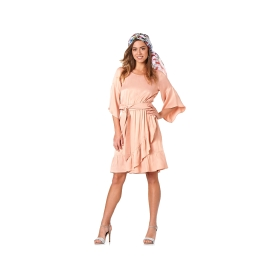 Wrapover dress