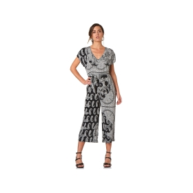 Patterned jumpsuit