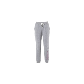 Branded jogging trousers