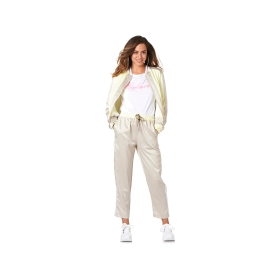 Jogging bottoms with elastic