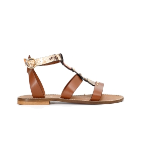 Special price: Leather Gladiator sandals